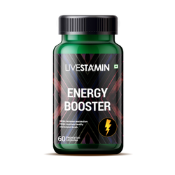 Energy Booster Capsules Herbal Extracts Health Supplement