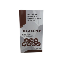 Relaxon-P Meloxicam IP 0.5% W/v & Paracetamol IP 150 Mg, 99 Ml, Packaging Type: Box
