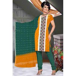 Casual Fancy Bandhani Suit