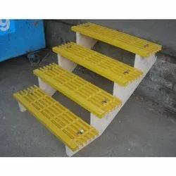 Yellow FRP Steps