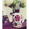 Flower Printed Ceramic Mug