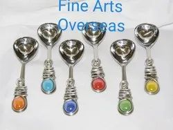 Beaded Stainless Steel Serving Spoon Cutlery Set