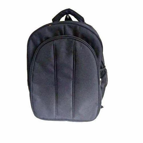 164961849 Black Polyester Stylish Backpack Bag, Rs 360 /piece, Yogesh ...