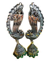 Earcuff Earrings With Jumka