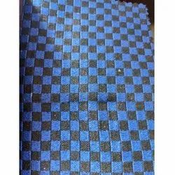 Checked Car Seat Fabric, GSM: 400-425