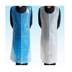 PE Plain Disposable Aprons, Size: Small And Medium