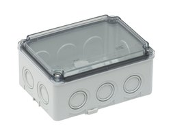 ABS HF Rectangular Transparent Junction Box (Cover), IP65
