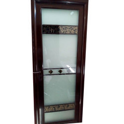 Glass And MS Glass Bathroom Door
