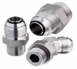 Carbon Steel, Stainless Steel Parker Triple Lok Soft Seal Flare JIC Tube Fittings, For Hydraulic Pipe