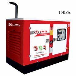 Eicher Single Phase 15 kVA Diesel Generator, Output Voltage: 220 - 380 V