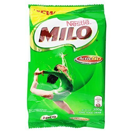 Milo Nestle Active Go Pouch Milk Powder (300 30Grams), Packaging Type: Can