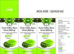Green Coffee Beans Extract (800mg)