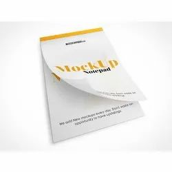 Notepad Designing And Printing Services