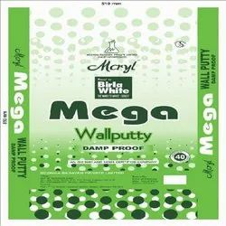 Mega Wall Putty Damp-Proof, Packaging Size: 20-40 Kg