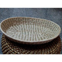 Bamboo Grass Oval Basket