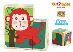 Orapple by R For Rabbit Safari Cube Puzzle Toys