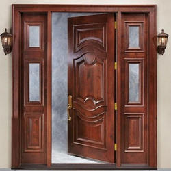 Designer Wooden Door in Mohali, Punjab | Decorative Wooden Door ...