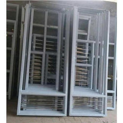 White Japanese Steel Door Frame