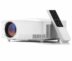 LED Mini Home Projector  720P 2200 Lumens  Video Projector HD  vivibright C80 UP Android Version
