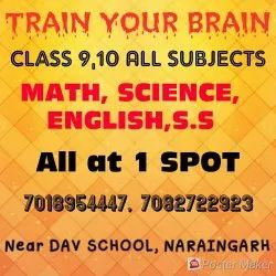 Tuition For 9, 10 Math Science English Social Science