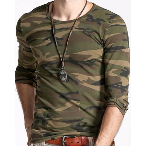 Military Full Sleeve T Shirt at Rs 190  piece  079eb2c7c618
