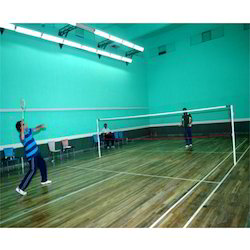 Maple Badminton Court Flooring