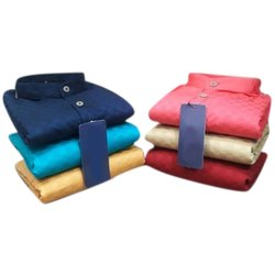 Casual Mens Fancy Plain Cotton Shirt, Size: M To Xxl