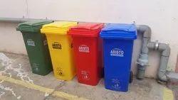 Plastic Waste Bin 120 L