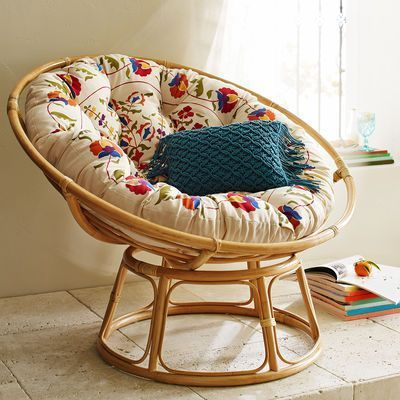 Incroyable Natural Cane Moon Chair