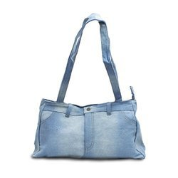 Bagz Denim Printed Bag