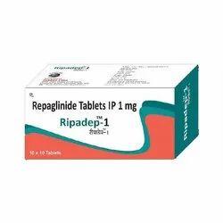 Ripadep 1mg Repaglinide Tablets, Globus Labs