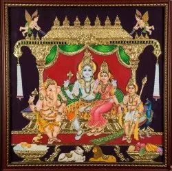 Shiva Tanjore Paintings