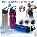 Steel Sipper Water Bottle H-114