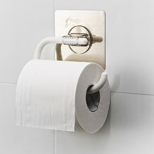 Plastic Self Adhesive Bathroom Napkin Toilet Paper Holder Rs 135