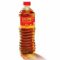 Saloni Yellow Kachi Ghani Mustard Oil, Packaging Type: Plastic Bottle, Packaging Size: 1 litre