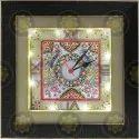Marble Handicraft Wall Clock