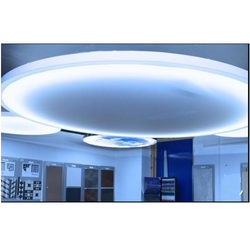Round Luxceil LED Printed Ceiling