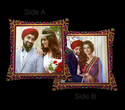 Couple Theme Personalized Pillow
