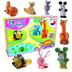 Boys 3D Paper Quilling - Animals Toy