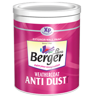 Berger Weather Coat Anti Dust Exterior Emulsion Paint ... | 300 x 321 png 126kB