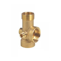 Five Way Connector Brass