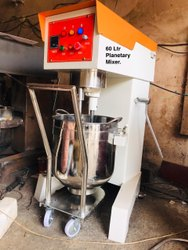 60 and 80 Ltr Planetary Mixer