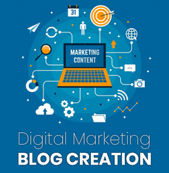 Digital Marketing Blog Creation, Noida