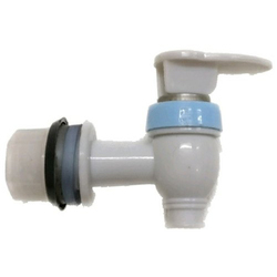 White Plastic Water Tap