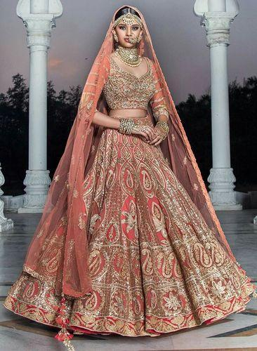 ded639f395084 Wedding Wear Designer Lehenga at Rs 4400 /piece | Wedding Lehenga ...