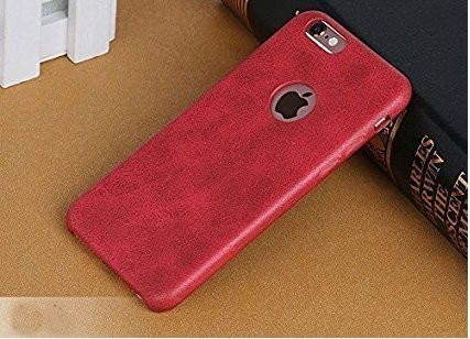 quality design a723f e4f35 Leather Back Cover Case For Apple Iphone 6 6s