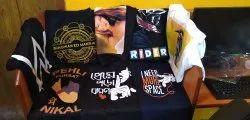 Print Vale Black Custom T-Shirt