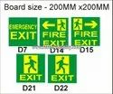 Rectangular Security Sign Board, For Industrial