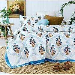 Hand Block Print Bedcover/Bedspread