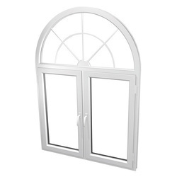 Hinged UPVC Arch Window, Height: 3 to 4 feet